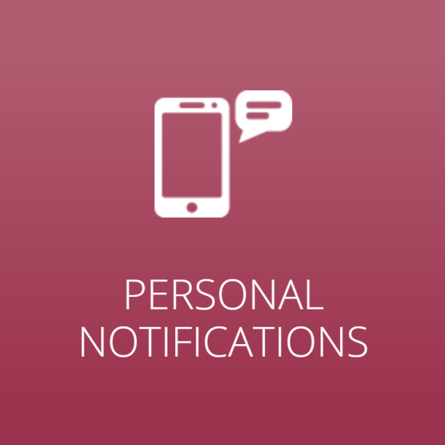Personal Notifications